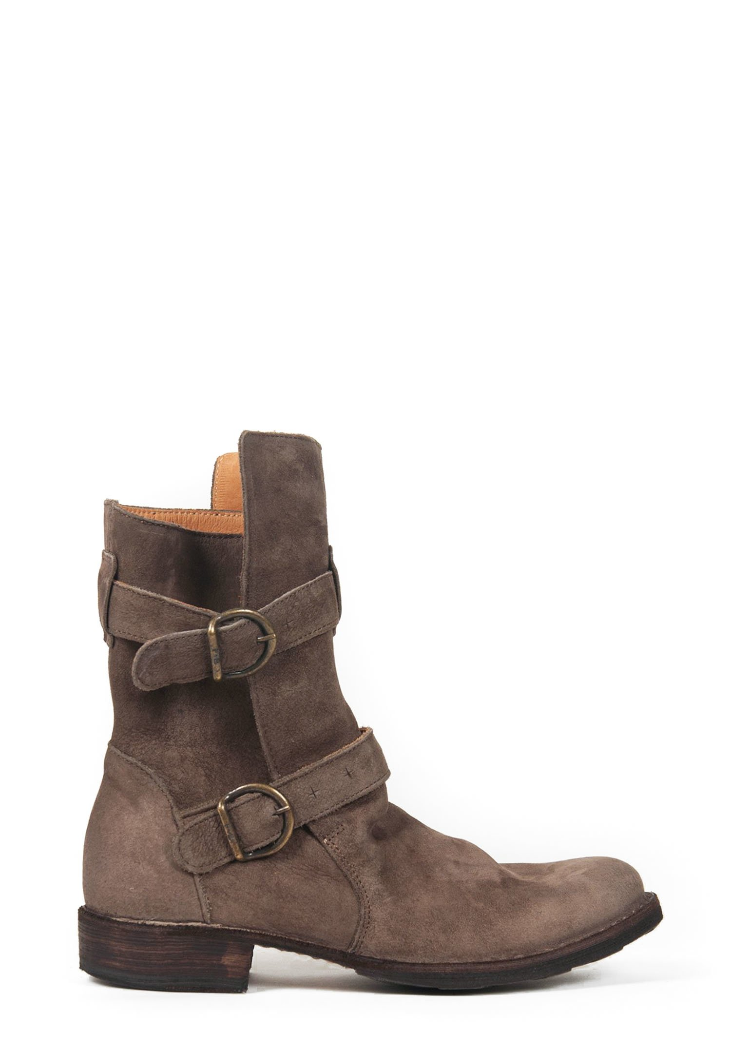 fiorentini and baker 2 buckle eternity boot in ice suede. Black Bedroom Furniture Sets. Home Design Ideas