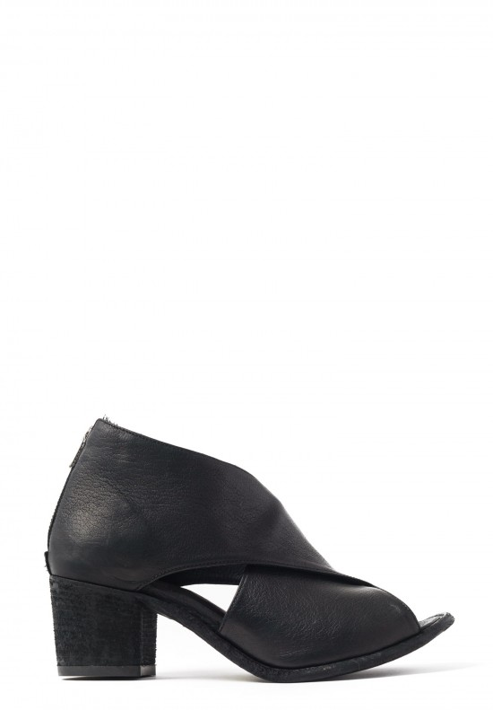 Officine Creative Resnais Open Toe Sandal in Black