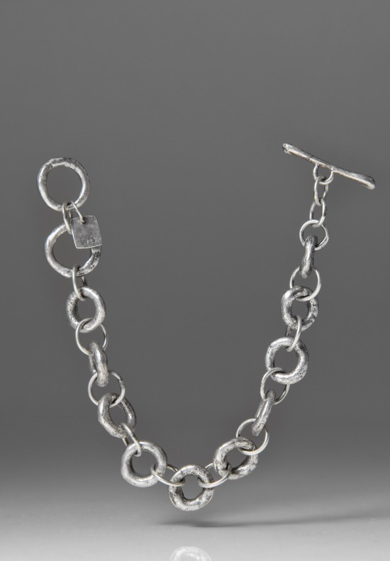 Holly Masterson Sterling Silver Small Link Bracelet