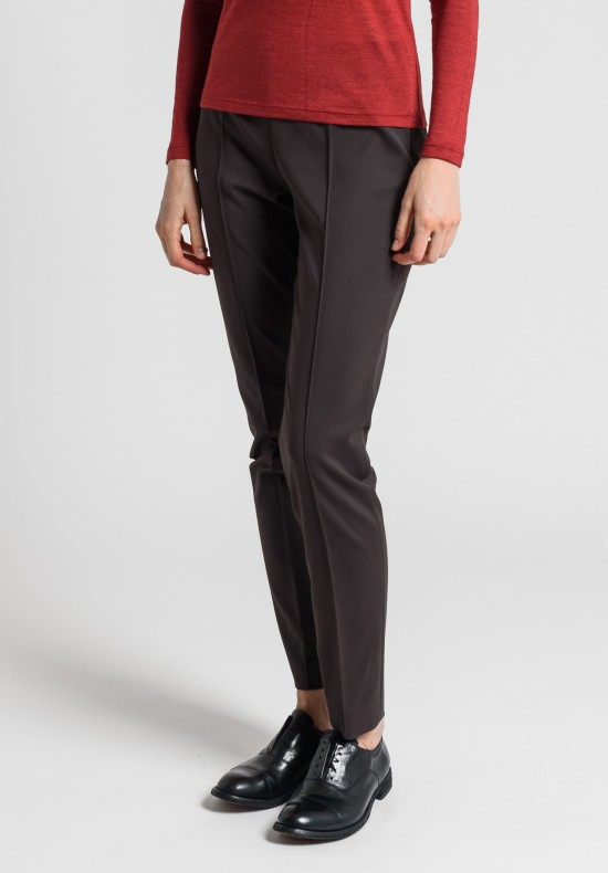 Akris Melissa Techno Cotton Stretch Pant in Date