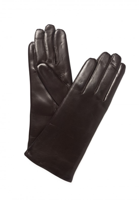 Hestra Cashmere Lined Hairsheep Gloves in Espresso