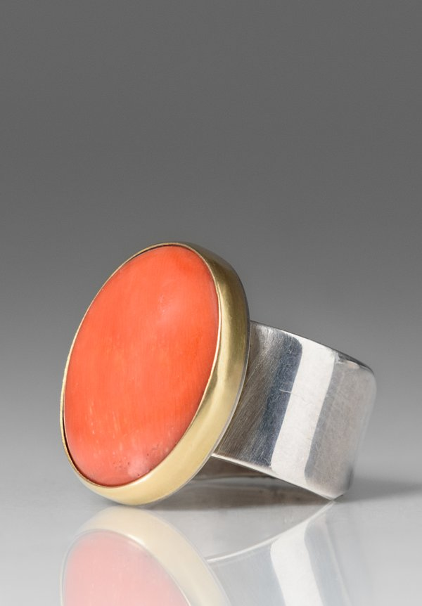 Greig Porter Italian Coral Ring