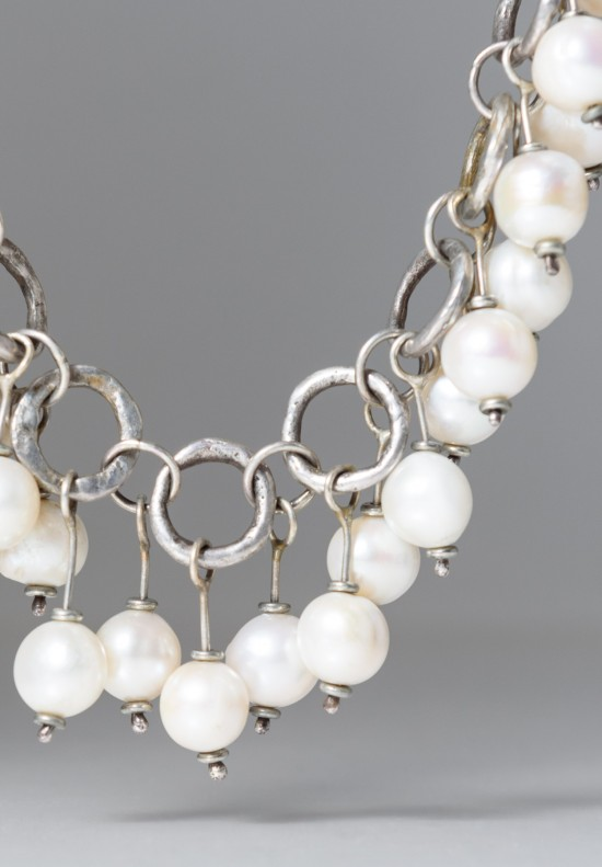 Holly Masterson Baroque Freshwater Pearls Necklace