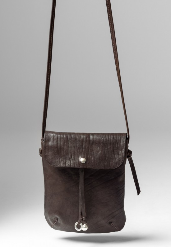 Massimo Palomba Myra Puccini Cross Body Bag in Coffee