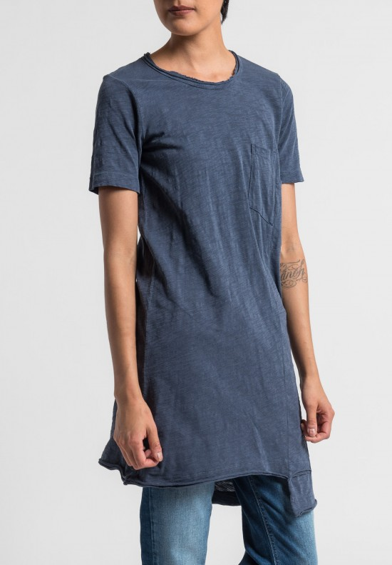 Wilt Shifted Pocket Tee Tunic in Sulfur