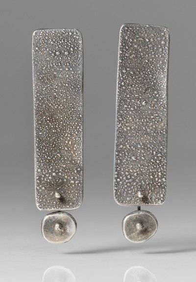 Holly Masterson Long Rectangular Post Earrings
