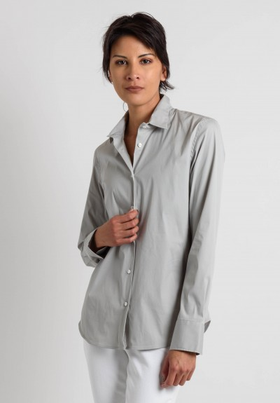 Lareida Fitted Shirt in Grey