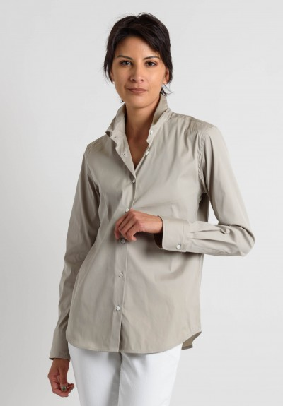 Lareida Fitted Shirt in Beige