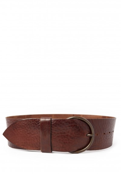 Riccardo Forconi Wide Belt in Brown