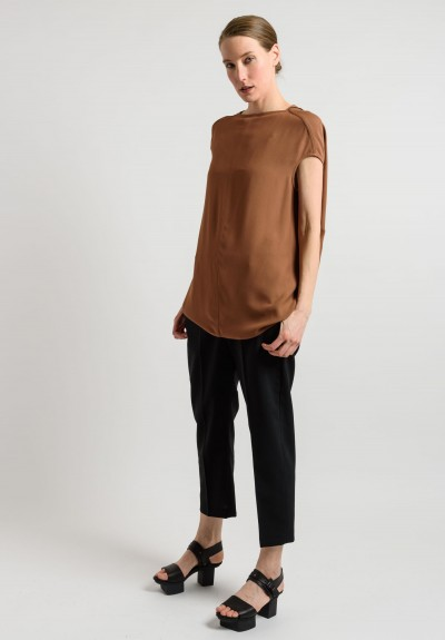 Rick Owens Oversized Top in Henna