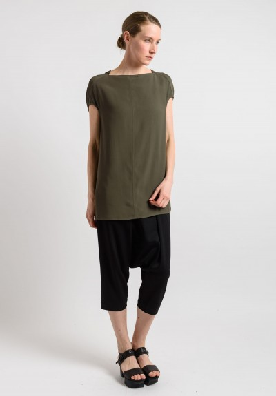 Rick Owens Oversized Top in Palm