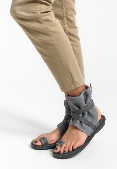 Trippen Sahara Sandal in Grey