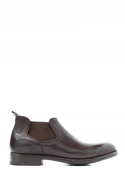 Alberto Fasciani Perla Chelsea Shoe in Brown