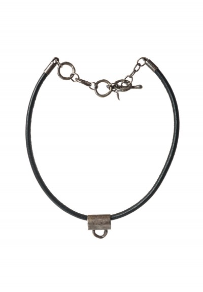 Holly Masterson Leather & Bail Necklace
