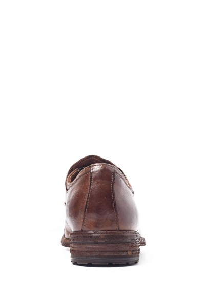 Officine Creative Oxfords with Cap-Toe in Tobacco