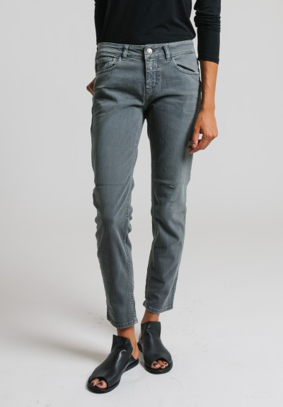 Closed Cropped Narrow Jeans in Grey