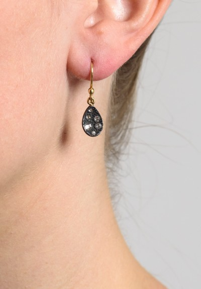 TAP by Todd Pownell Small Concave Oval Earrings