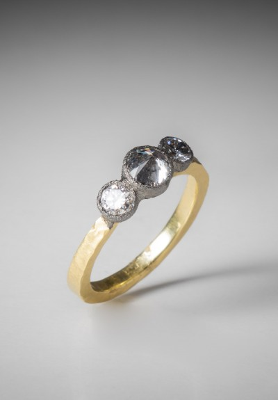 TAP by Todd Pownell 3 Inverted Diamond Ring