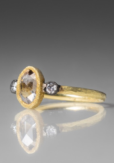 TAP by Todd Pownell Oval Rose Cut Diamond Ring
