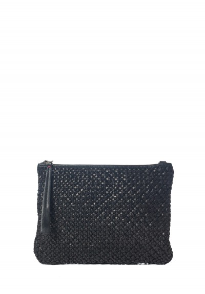 Massimo Palomba Momo Handwoven Bag in Black