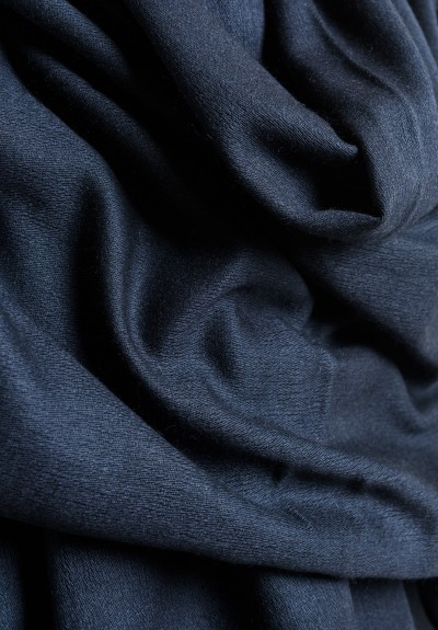 Denis Colomb Solid Color Throw in Dark Charcoal