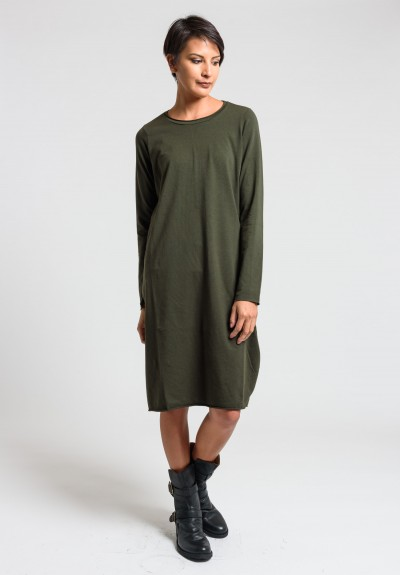 Labo.Art Abito Stilo Jersey Dress in Wood