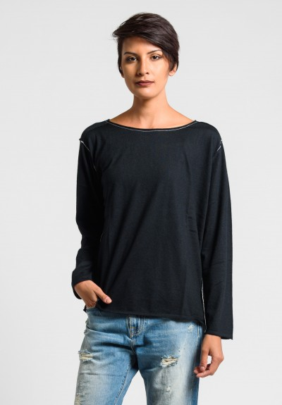 Paychi Guh Everyday Cashmere Sweater in Black