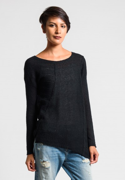 Paychi Guh Soft Pullover in Black