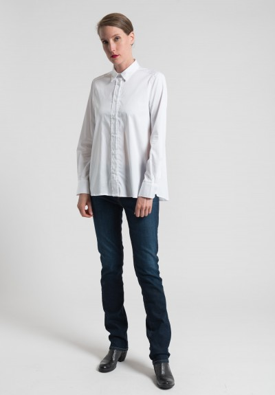 Lareida Pepita Shirt in White