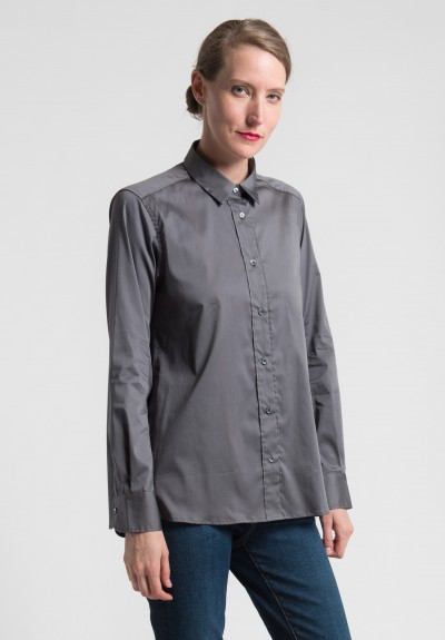 Lareida Pepita Shirt in Gunmetal