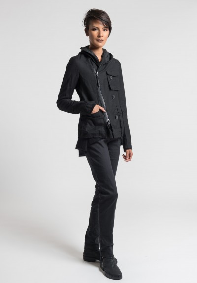 Rundholz Patch Pocket Blazer in Black