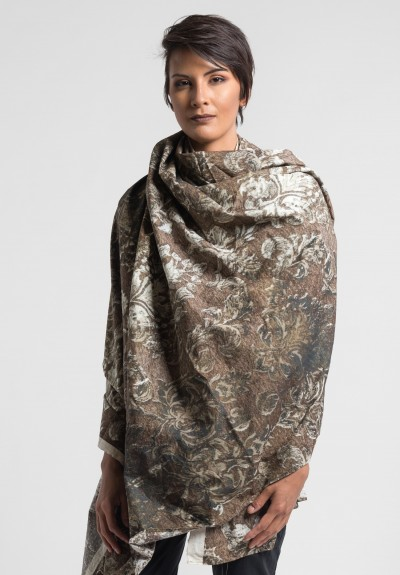 Rundholz Dip Cotton Baroque Print Scarf in Original