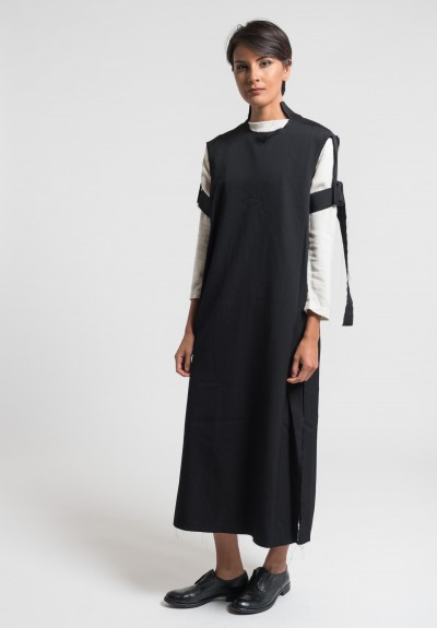 Damir Doma Deledda Tunic Dress in Coal