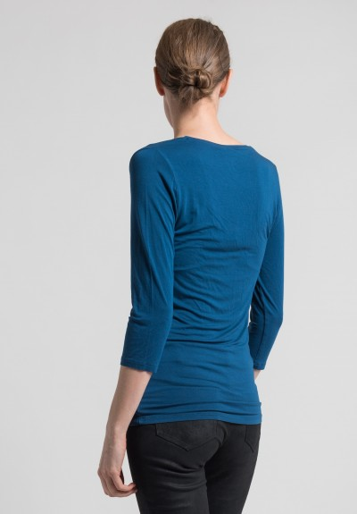 Majestic 3/4 Sleeve V-Neck in China