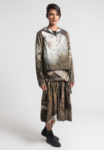 Rundholz Dip Old Masters Hooded Top in Brown