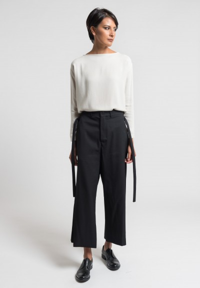 Damir Doma Ponte Pants in Coal