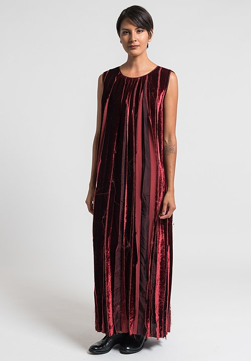Uma Wang Baionetta Dress in Red