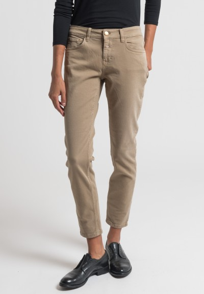 Closed Baker Cropped Narrow Jeans in Rope
