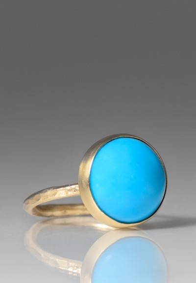 Greig Porter Circular Sleeping Beauty Turquoise Ring