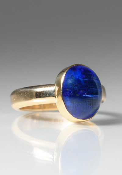 Greig Porter Oval Tanzanite Ring