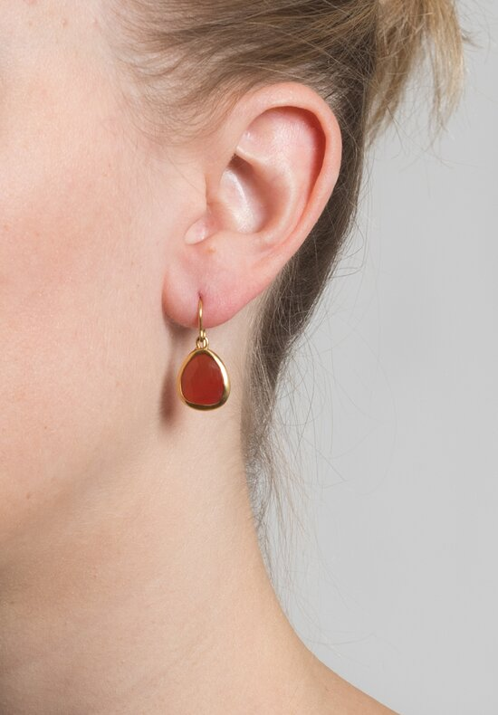 Greig Porter Granet Drop Earrings