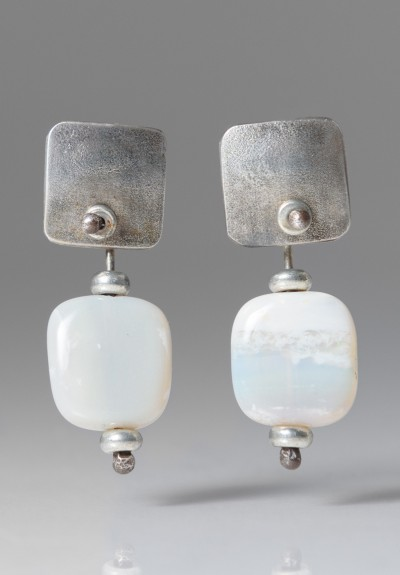 Holly Masterson Potch Opal Earrings
