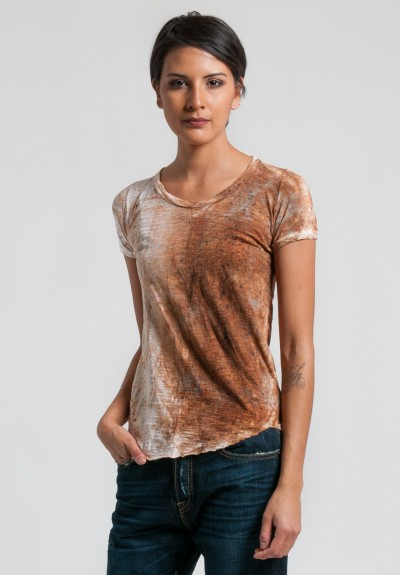 Gilda Midani Short Sleeve Pattern Tee in Flora