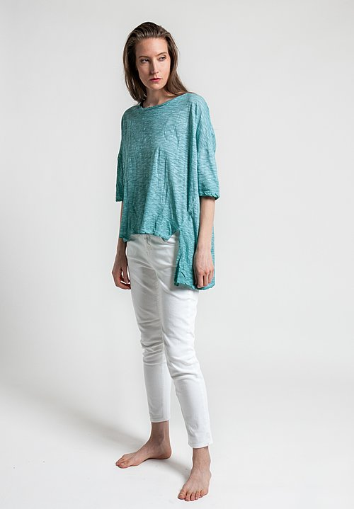 Gilda Midani Short Sleeve Super Tee in Sea