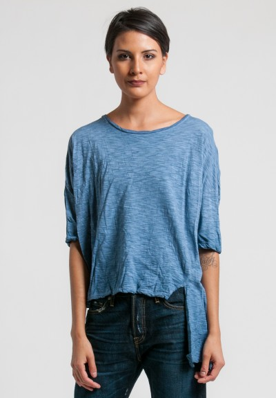 Gilda Midani Short Sleeve Super Tee in Deep Blue
