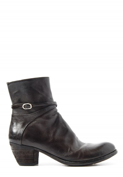 Officine Creative Godard Bootie in Ebano