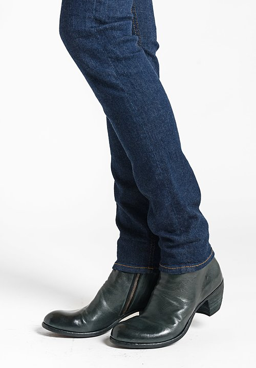 Officine Creative Godard Bootie in Petrol