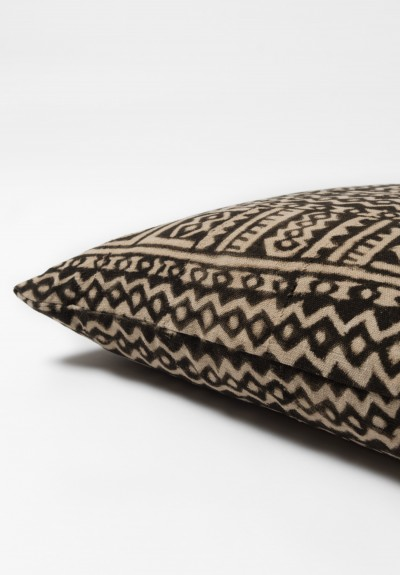 Shobhan Porter Vintage Mud Cloth Pillow in Pattern 3