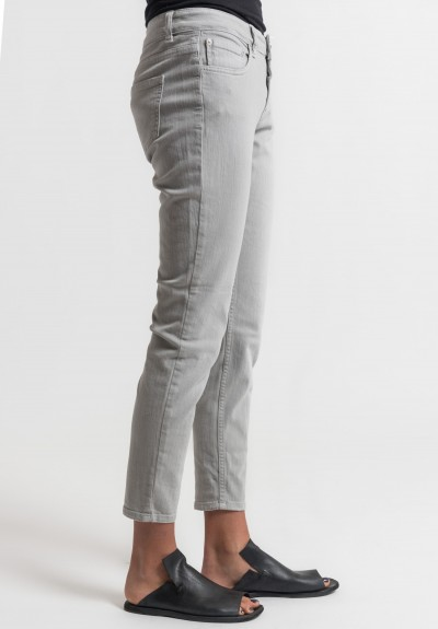 Closed Baker Cropped Narrow Jeans in Slate Grey
