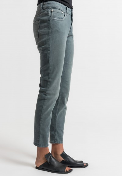 Closed Baker Cropped Narrow Jeans in Seaweed